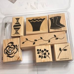 7 Floral Vase Stampin Up Crafting Stamps